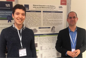 Ibrahim and Prof. Kessler at the DKPM 2019
